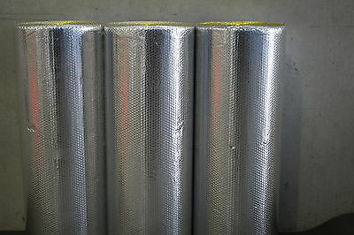 Heavy Duty Double Sided Foil Bubble Insulation 12M2 Roll $64  Asnzs 4859.1