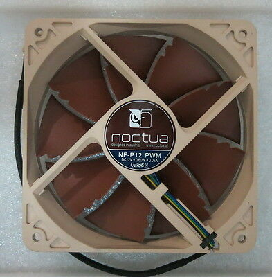 Noctua NF-P12 120mm Sound Optimised Cooling Fan 3-Pin