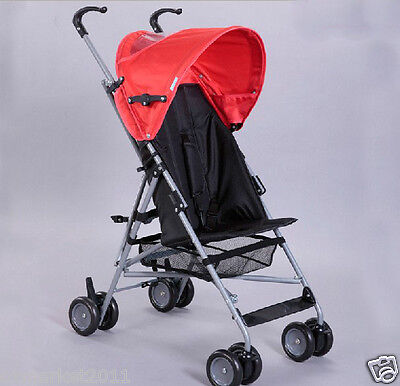 Red Security Collapsible Multi-Purpose Baby Carriage/Baby Stroller  !@&