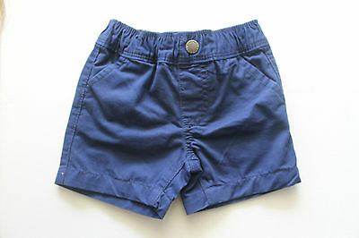 Baby Boys Shorts Navy Pants Bottoms Clothes Size 0-3 months Outfit