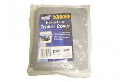 Maypole Trailer Cover 5'X3' Heavy Duty Grey