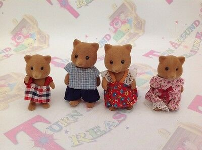 Sylvanian Families Vintage Slydale Fox Family RARE More Available!