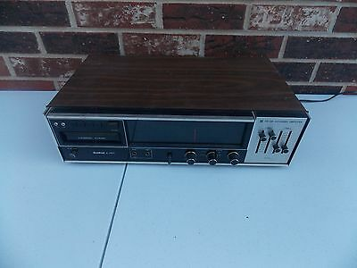 Vintage Bradford Stereo 8-Track Tape Player for parts only model 90670