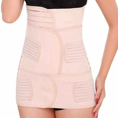 3in1 Postpartum Women Recovery Breathable Belly Elastic Waist Pelvis Belt Shapew