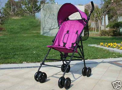 Purple Security Collapsible Multi-Purpose Baby Carriage/Baby Stroller  !@&