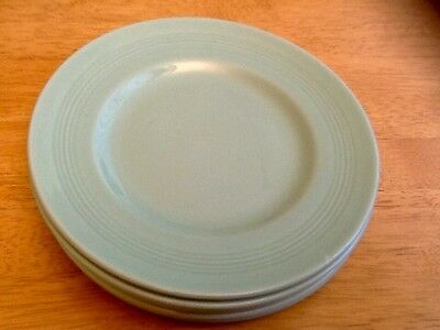 Woods Ware. green Beryl 7 side playes. 7 inch