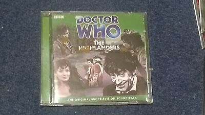 Doctor who BBC audiobook (CD)  - THE HIGHLANDERS