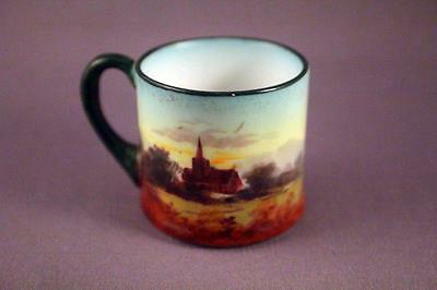 Rare Royal Doulton Miniature Country Scenes Cup - Perfect