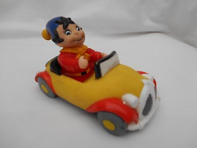 "Vintage Noddy vinyl car approx 13cm/5"" long with Big Ears figure approx 12cm/4.5"