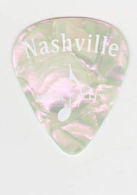 NASHVILLE Tennessee GUITAR PICK PINK MARBLE MUSIC CITY Country Music Opry USA