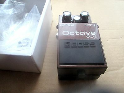 Boss Octaver Oc 2 - New Old Stock