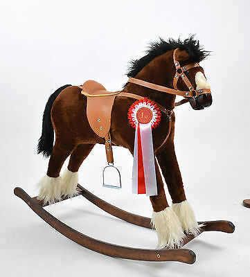 NEW Large Beautiful Handmade Rocking Horse TWISTER . Schukelpferd from ALANEL