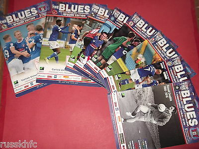 2016/17 Carlisle Home Programmes Choose From