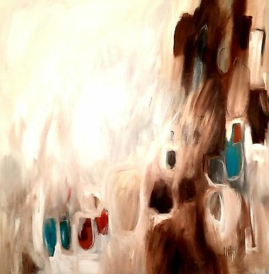 Kerry Bowler Art! One-off original Abstract HUGE canvas!