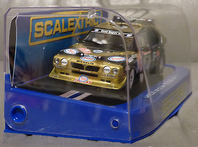 SCALEXTRIC 1:32. LANCIA DELTA S4 RALLY CAR with DPR/Working Lights/Magnatraction