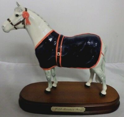 *Royal Doulton - Graham Tongue - Welsh Mountain Pony - On Mount*