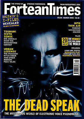 Fortean Times Magazine Issue 194 March 2005