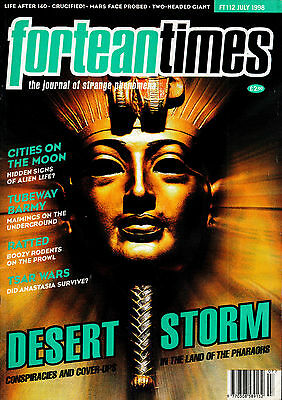 FORTEAN TIMES MAGAZINE ISSUE 112 July 1998