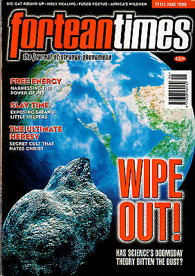 FORTEAN TIMES MAGAZINE ISSUE 111 June 1998