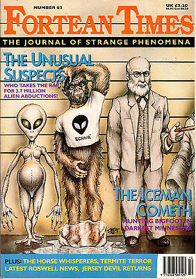 Fortean Times Magazine Issue 83 October ~ November 1995