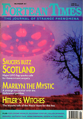 Fortean Times Magazine Issue 81 June ~ July 1995