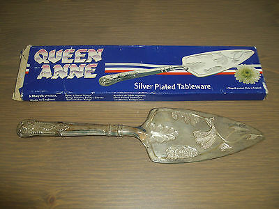 Queen Anne ~ Silver Plated Cake Server