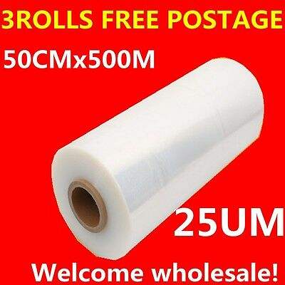 new wrap film Hand Stretch Film for Pallet Carton Shrink Wrap 25U Wrapping film