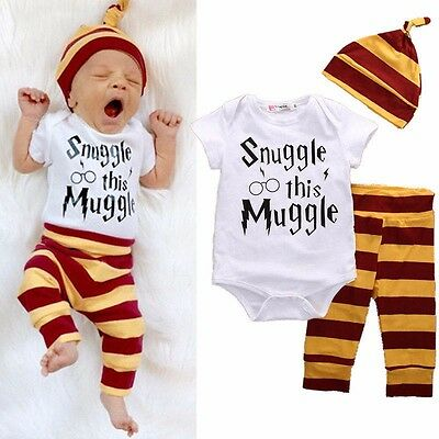 Snuggle This Muggle Newborn 6 9 Months Baby Boys Outfits Babygrows Clothes Jr03