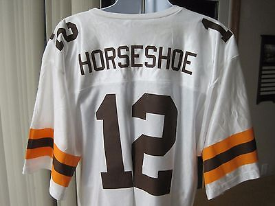 Collectible Cleveland Horseshoe Casino Defunct Football Promotional Jersey NWOT