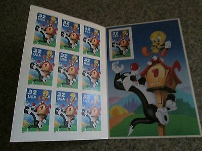 Bugs Bunny and Sylvester/Tweety stamps