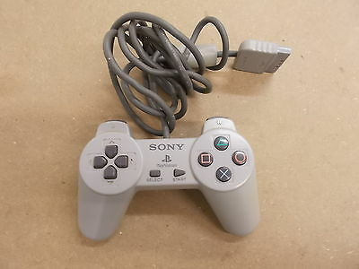 PS1 Playstation 1 Grey Pal OFFICIAL CONTROLLER