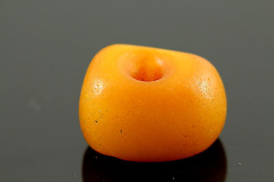 Antique Moroccan Amber Beads Genuine Natural Egg Yolk Butterscotch.