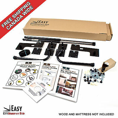 Wall Bed Hardware Kit  for Vertical Mount Double/Full Size