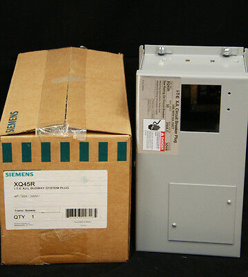 Siemens I-T-E XQ45R Bus System Plug In XJL 15 to 50 Amp 240 Volt 4P Switch