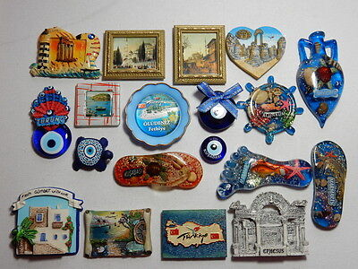 One Selected including 3D Souvenir Fridge Magnet from Turkey