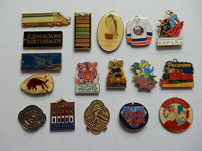 One Metal Souvenir Fridge Magnet from Selected Location