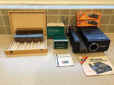 Slide Projector and Slide Viewer