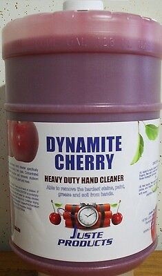Cherry Hand Cleaner, DYNAMITE CHERRY HAND CLEANER GALLON + PUMP, ONLY $33.89