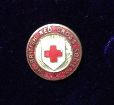 Vintage Badge The British Red Cross Society