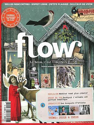 FLOW N°13 + CALENDRIER  + Complet + Neuf