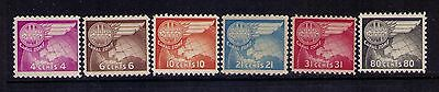 Canal Zone Airmail Stamps Sc# C21-26 Mnh