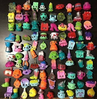 Lot of 100 pieces random shopkins figures toys from season 1~7 Brand new in U.S