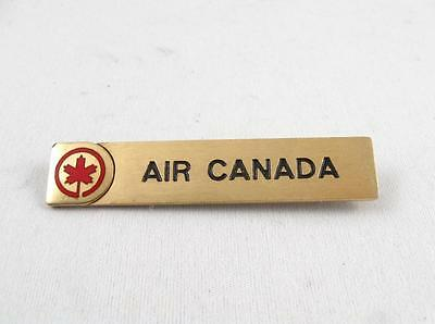 Vintage Air Canada Airline Employee Flight Crew Uniform Badge Pin