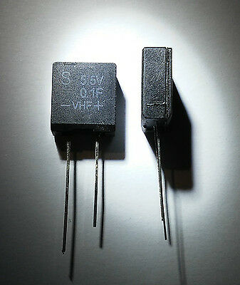 5.5V / 0.1F Capacitor against memory loss (Rotel). Memory backup