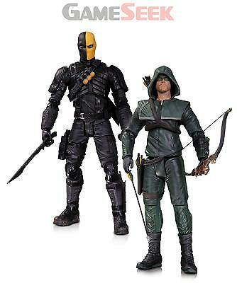 Arrow Action Figure 2 Pack: Oliver Queen And Deathstroke - Toys Brand New