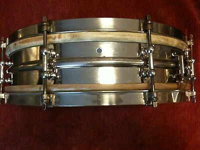 1920s Ludwig NoB Snare Drum 14 x 4 (Black Beauty shell)