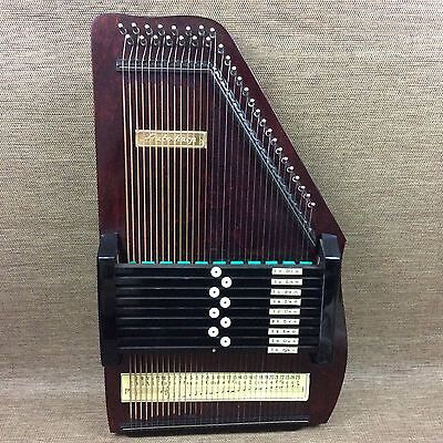 Autoharp - 32 Strings - Boxed - Instrument - Vintage