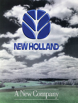 1994 6 Page Print Ad of Ford New Holland Tractor Dealership Centerfold