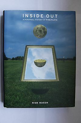 Inside Out A Personal History of Pink Floyd hand signed hardback by Nick Mason