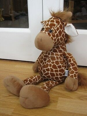 "Russ Large Giraffe 18"" Plush Soft Beanie Toy Animal"